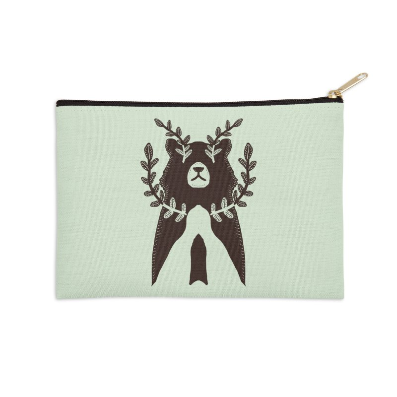 Dreaming Bear Accessories Zip Pouch by barmalisiRTB