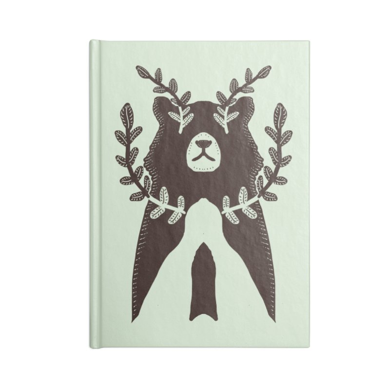 Dreaming Bear Accessories Notebook by barmalisiRTB