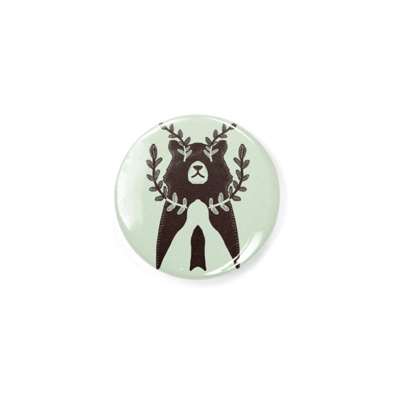 Dreaming Bear Accessories Button by barmalisiRTB