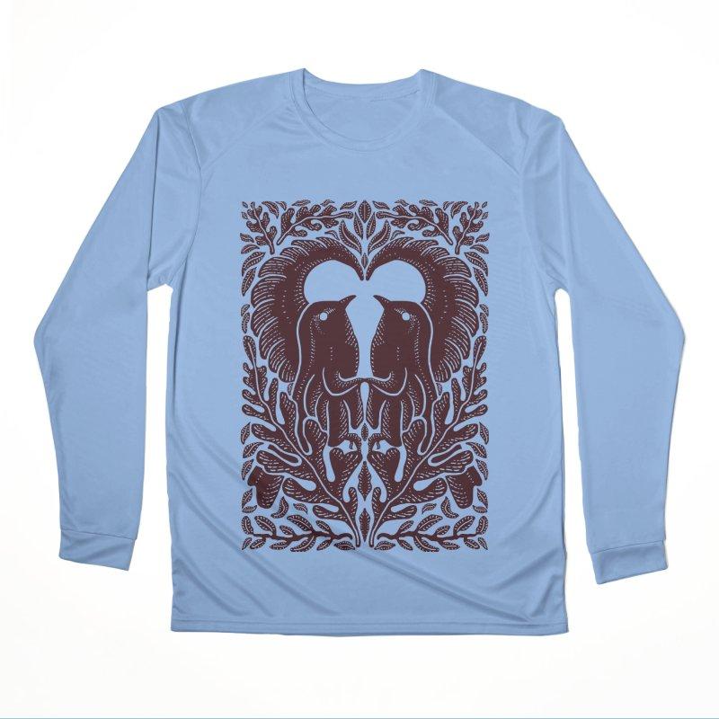 Bird Couple Men's Longsleeve T-Shirt by barmalisiRTB