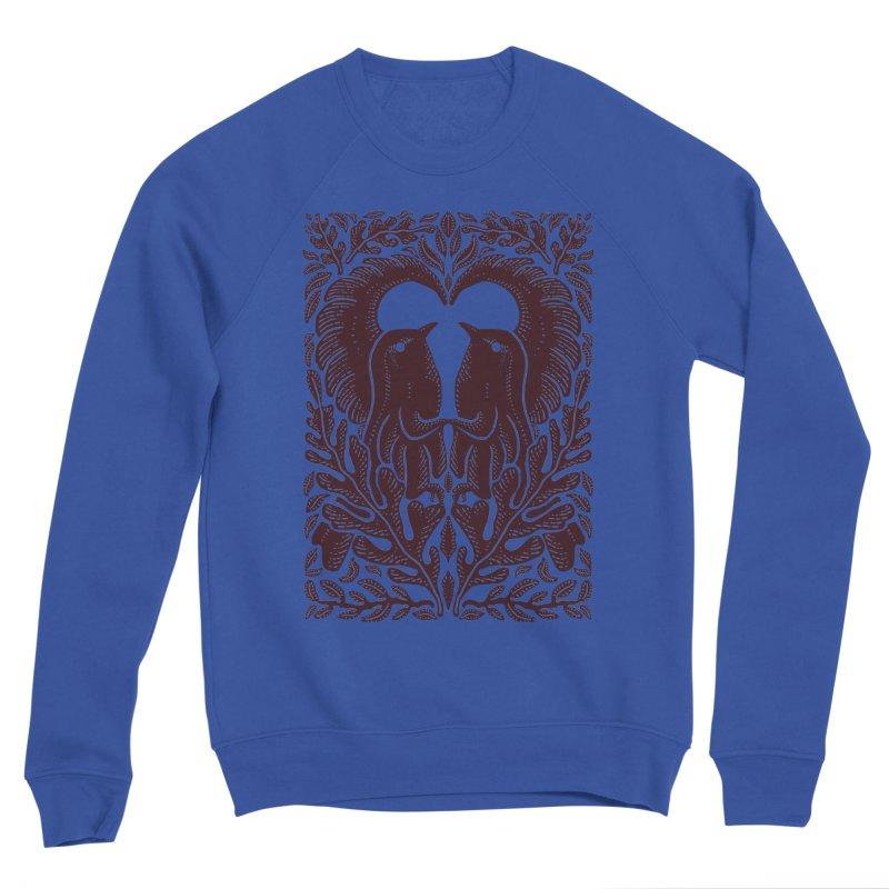 Bird Couple Men's Sweatshirt by barmalisiRTB