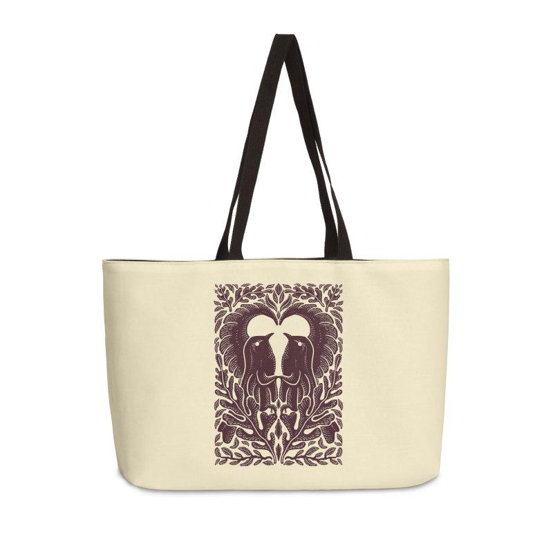 Bird Couple Accessories Bag by barmalisiRTB