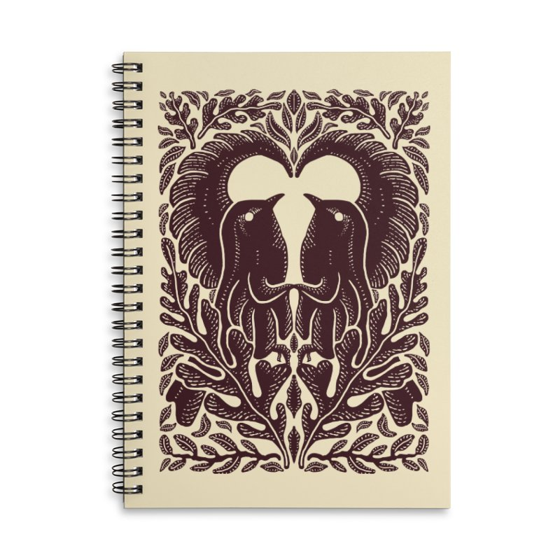 Bird Couple Accessories Notebook by barmalisiRTB