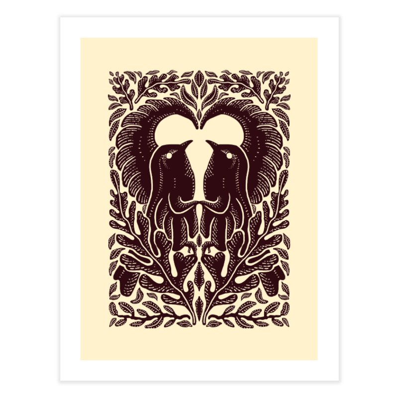 Bird Couple Home Fine Art Print by barmalisiRTB