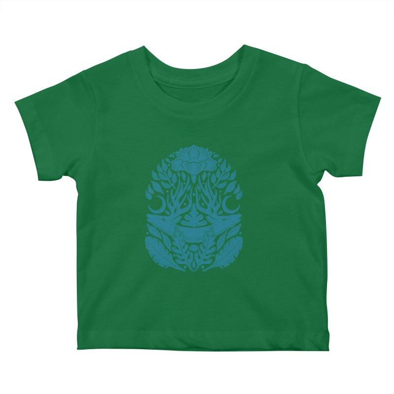 Life of Deer Kids Baby T-Shirt by barmalisiRTB