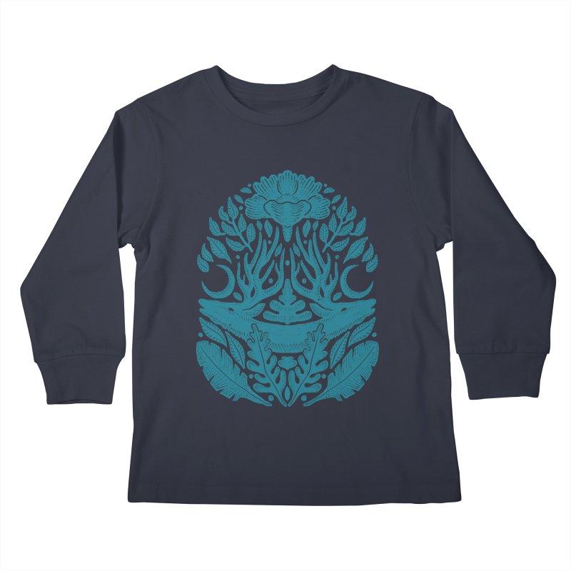 Life of Deer Kids Longsleeve T-Shirt by barmalisiRTB