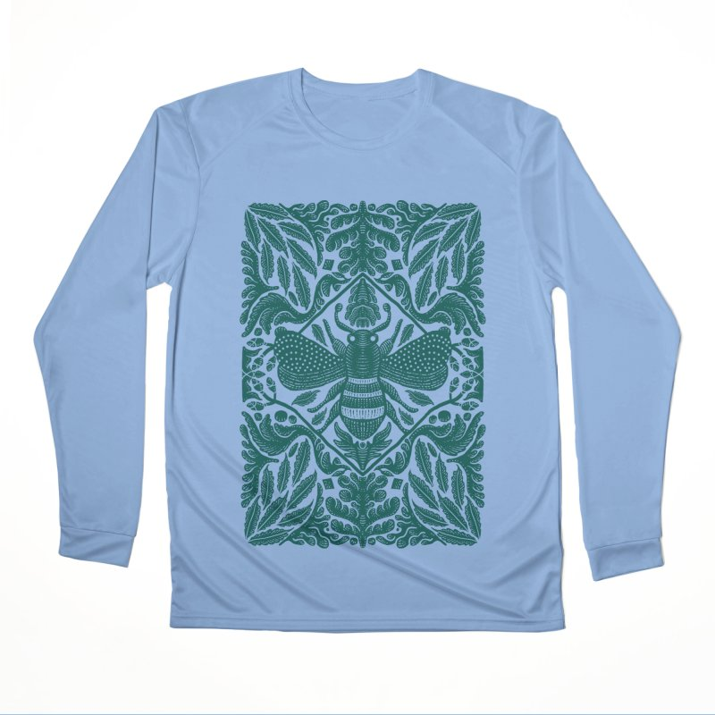 nature Bee Men's Longsleeve T-Shirt by barmalisiRTB