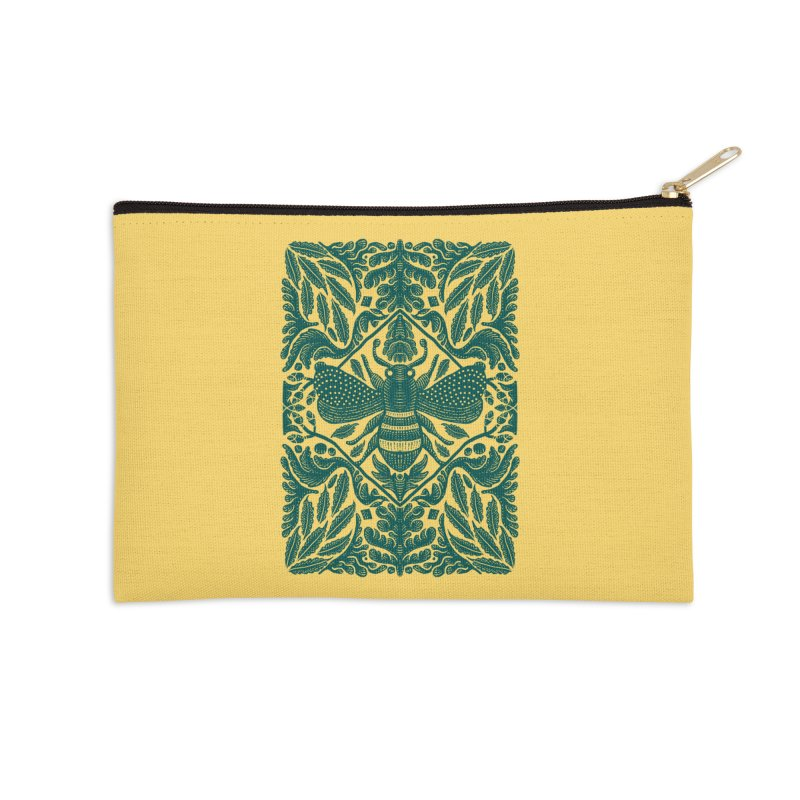nature Bee Accessories Zip Pouch by barmalisiRTB