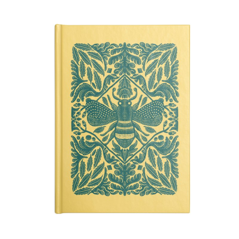 nature Bee Accessories Notebook by barmalisiRTB