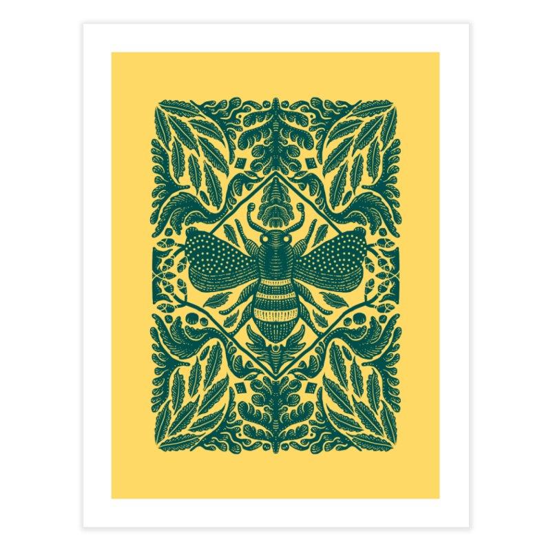 nature Bee Home Fine Art Print by barmalisiRTB