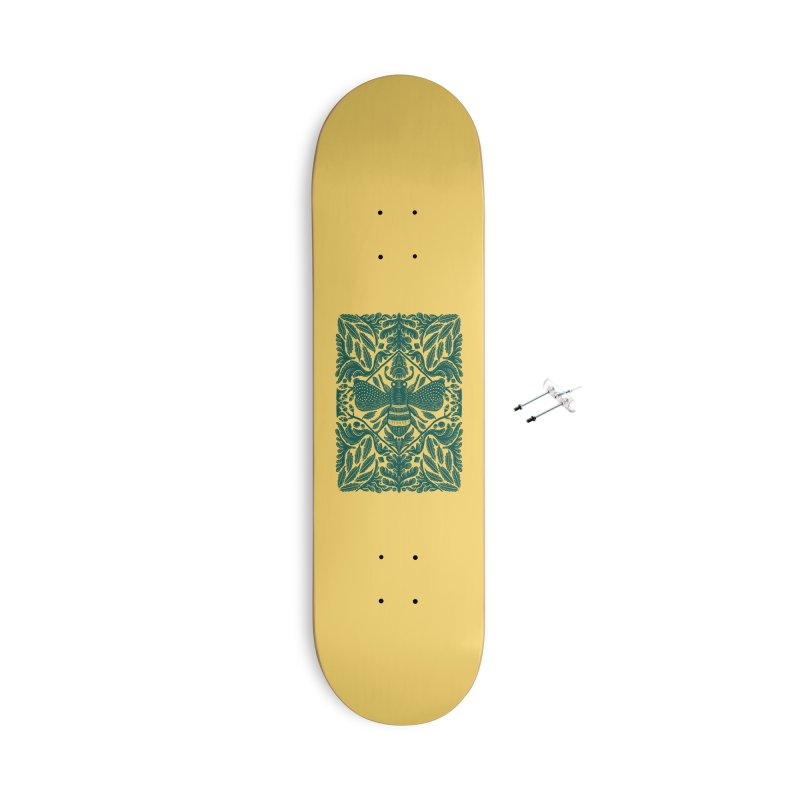 nature Bee Accessories Skateboard by barmalisiRTB