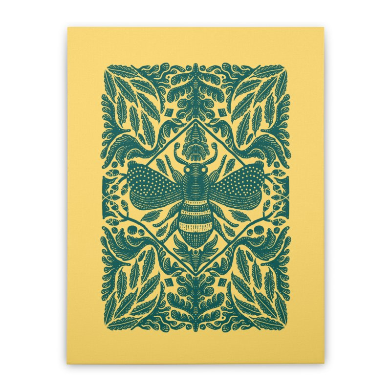 nature Bee Home Stretched Canvas by barmalisiRTB