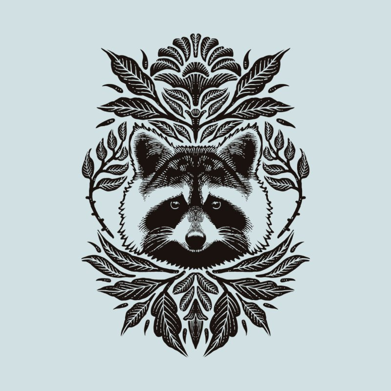 My pet Raccoon Accessories Face Mask by barmalisiRTB