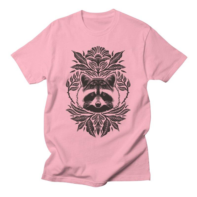 My pet Raccoon Men's T-Shirt by barmalisiRTB
