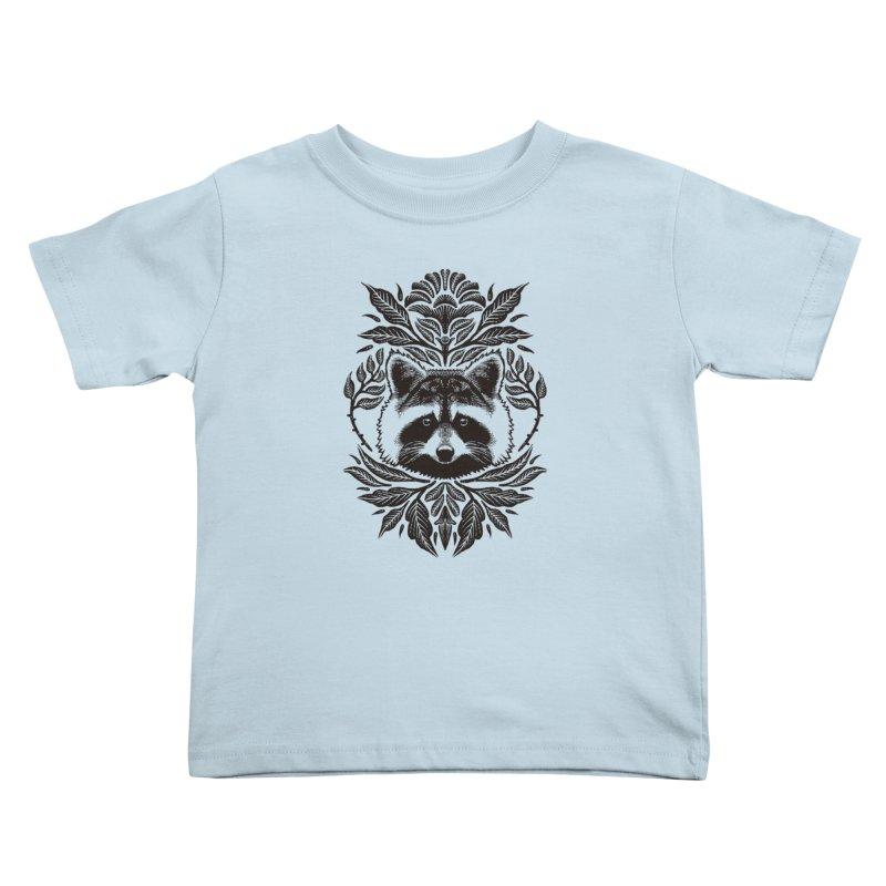 My pet Raccoon Kids Toddler T-Shirt by barmalisiRTB