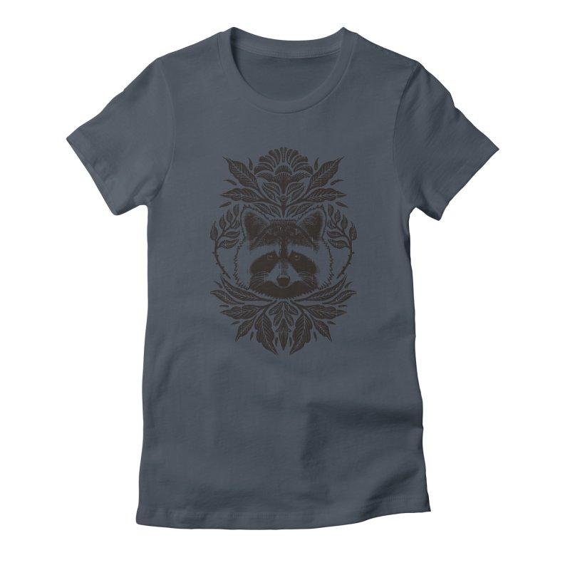 My pet Raccoon Women's T-Shirt by barmalisiRTB