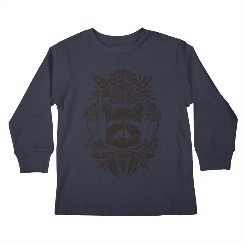 My pet Raccoon Kids Longsleeve T-Shirt by barmalisiRTB