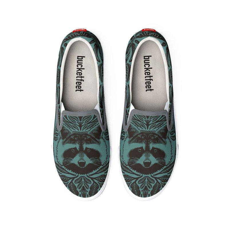 My pet Raccoon Women's Shoes by barmalisiRTB