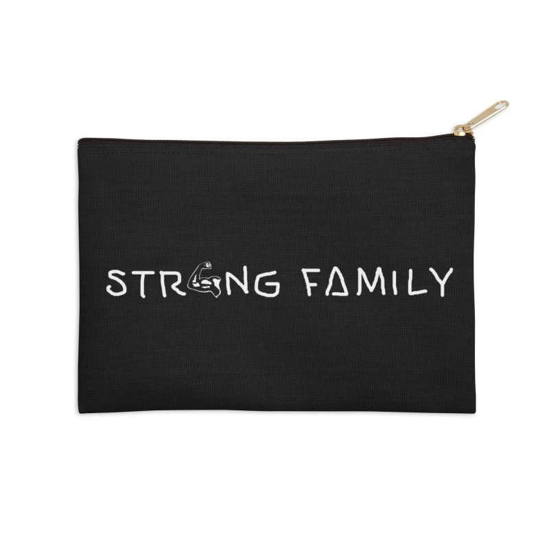 Strong family Accessories Zip Pouch by barmalisiRTB