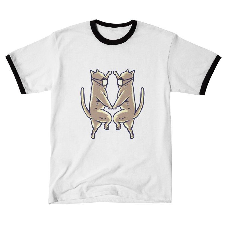 Dancing Cats Women's T-Shirt by barmalisiRTB