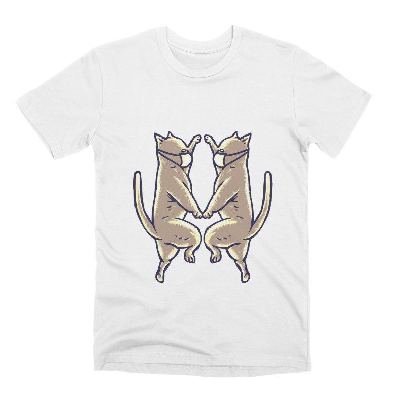Dancing Cats Men's T-Shirt by barmalisiRTB