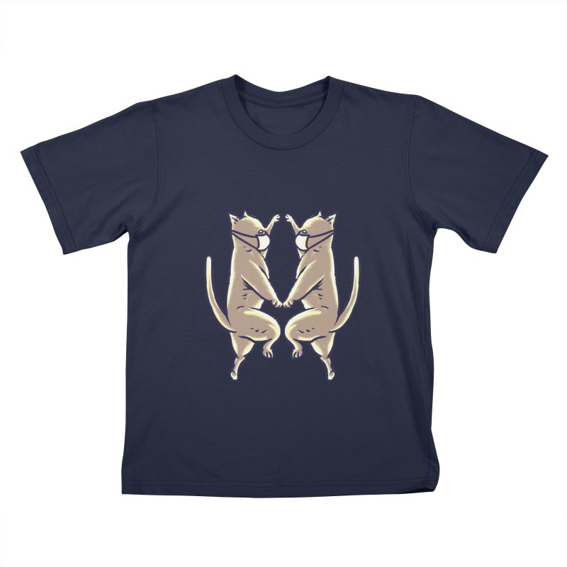 Dancing Cats Kids T-Shirt by barmalisiRTB