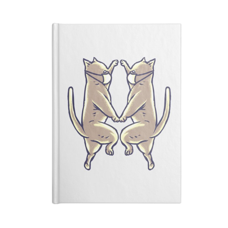 Dancing Cats Accessories Notebook by barmalisiRTB
