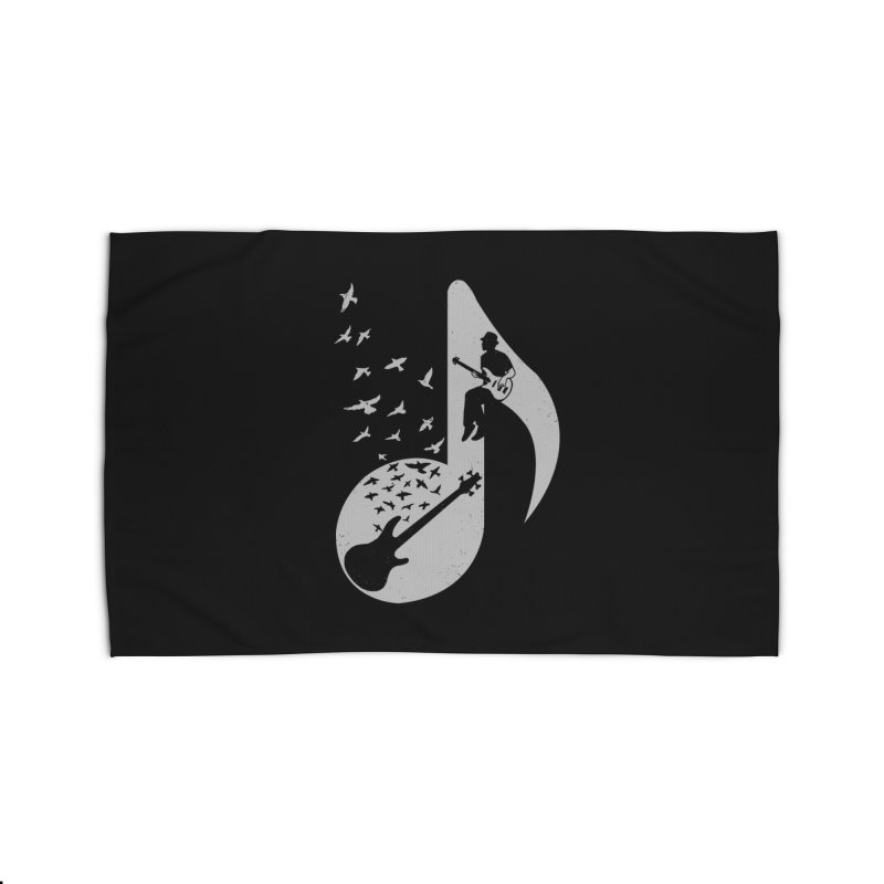 Musical - Bass Guitar Home Rug by barmalisiRTB