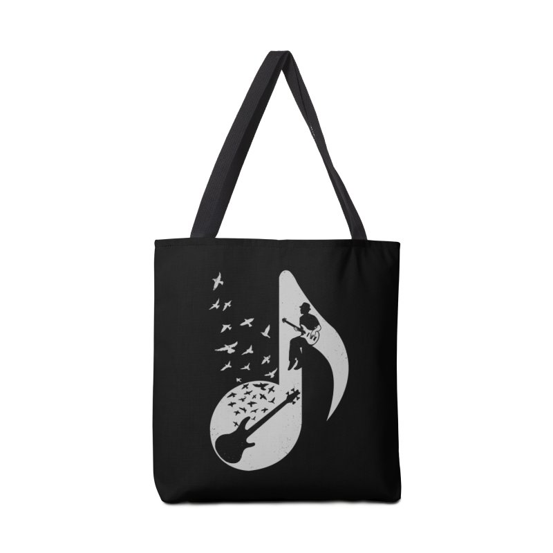 Musical - Bass Guitar Accessories Bag by barmalisiRTB