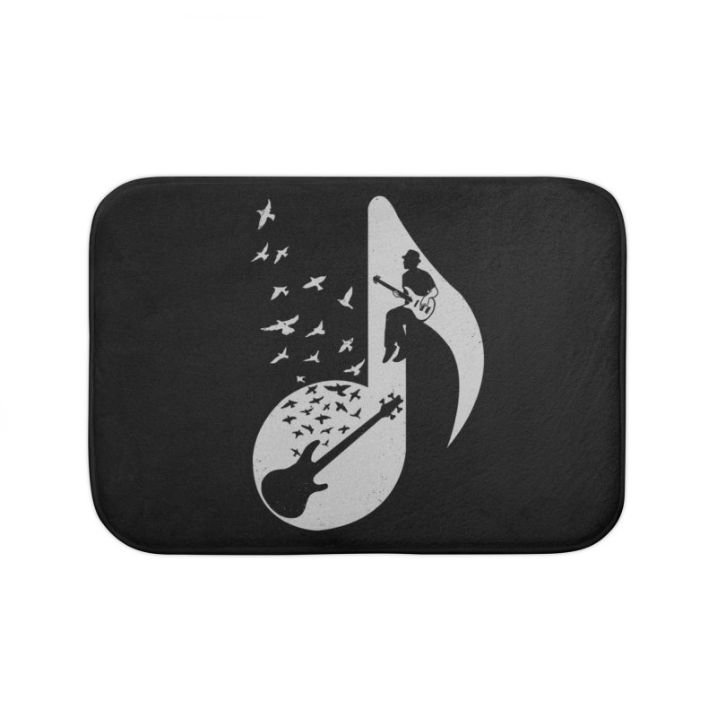 Musical - Bass Guitar Home Bath Mat by barmalisiRTB