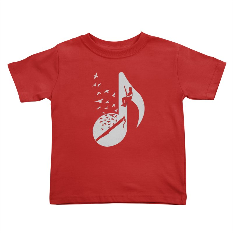 Musical - Bassoon Kids Toddler T-Shirt by barmalisiRTB