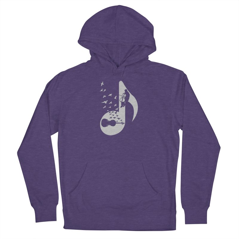 Musical - Cello Men's Pullover Hoody by barmalisiRTB