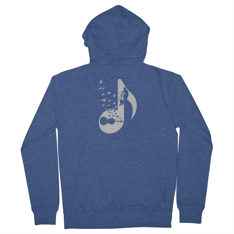 Musical - Cello Women's Zip-Up Hoody by barmalisiRTB