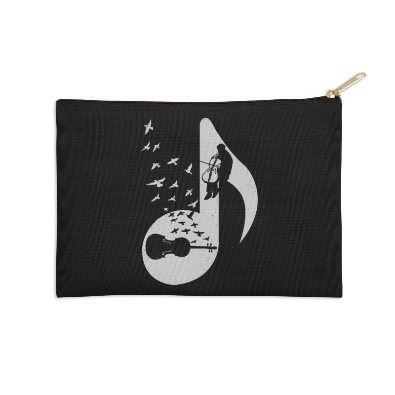 Musical - Cello Accessories Zip Pouch by barmalisiRTB