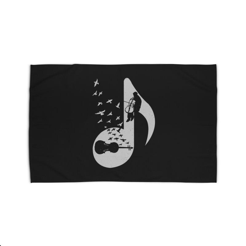 Musical - Cello Home Rug by barmalisiRTB