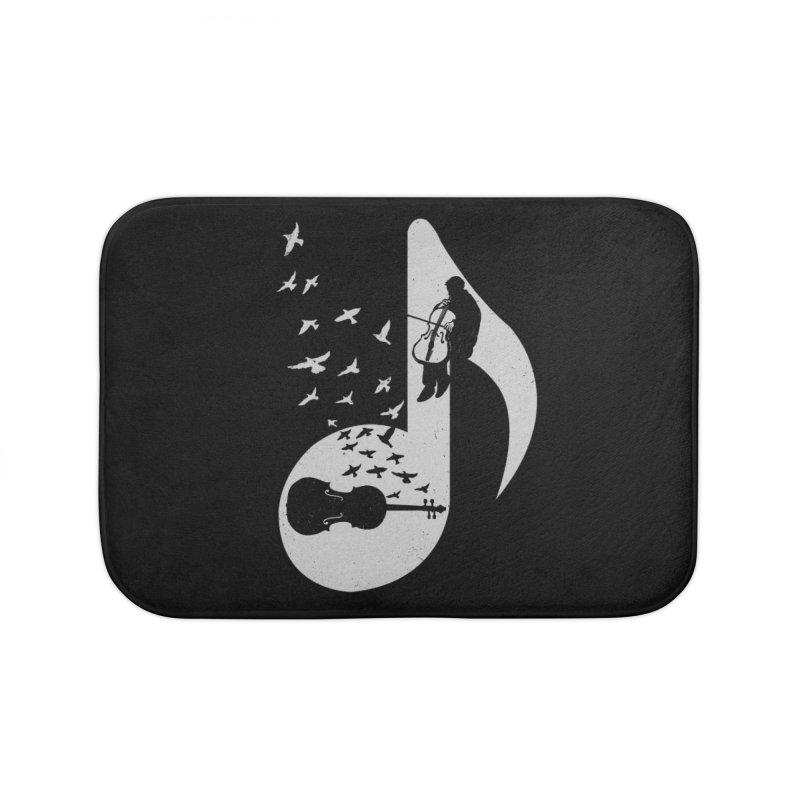 Musical - Cello Home Bath Mat by barmalisiRTB