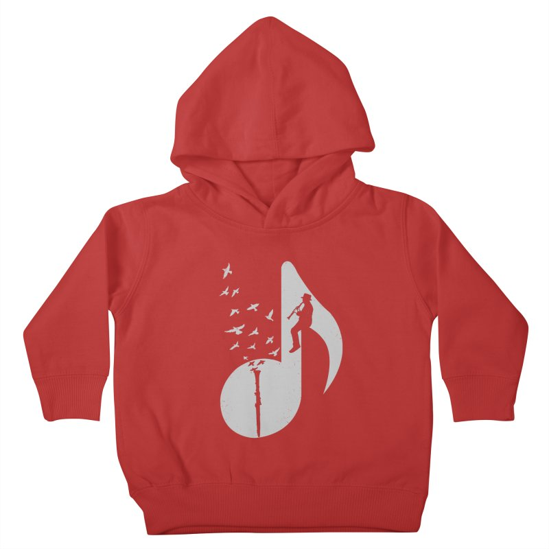 Musical - Clarinet Kids Toddler Pullover Hoody by barmalisiRTB
