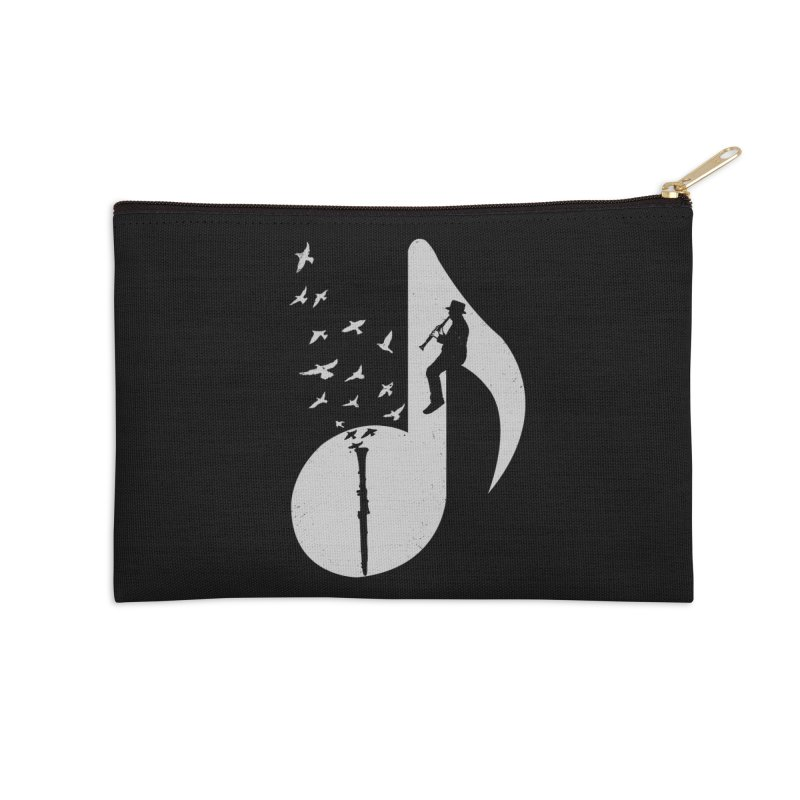 Musical - Clarinet Accessories Zip Pouch by barmalisiRTB