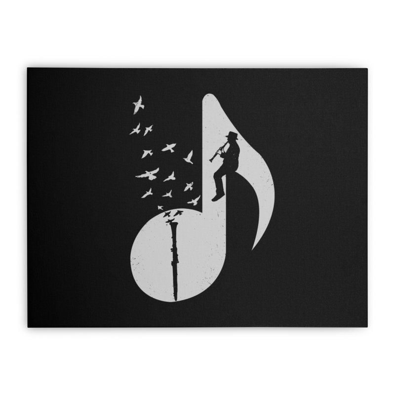 Musical - Clarinet Home Stretched Canvas by barmalisiRTB