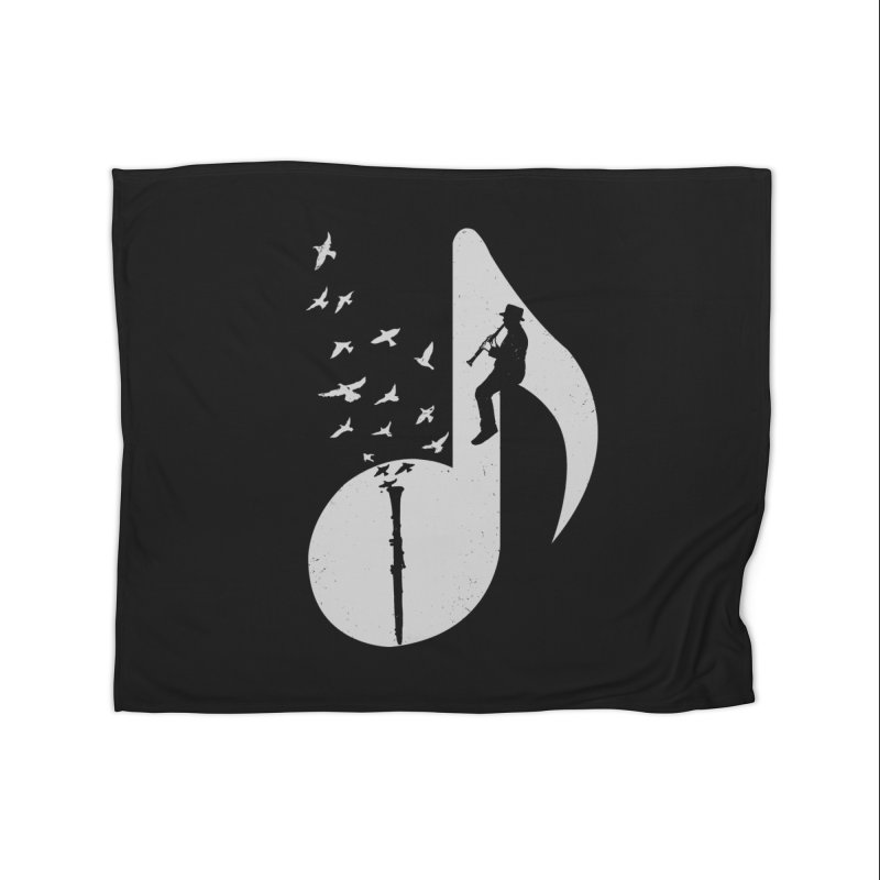 Musical - Clarinet Home Blanket by barmalisiRTB