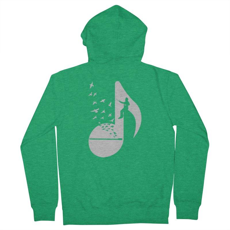 Musical - Conductor Men's Zip-Up Hoody by barmalisiRTB