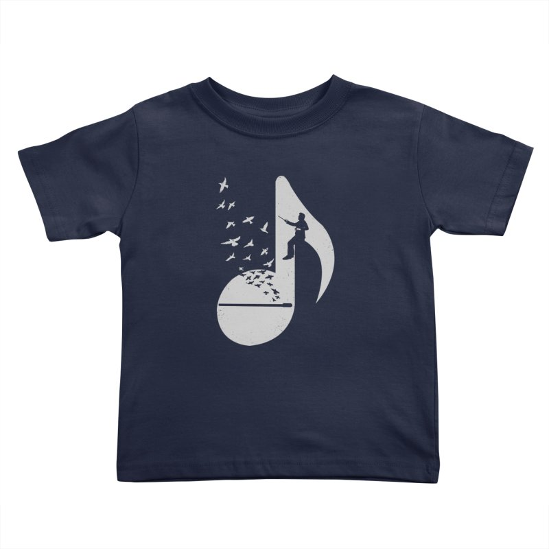 Musical - Conductor Kids Toddler T-Shirt by barmalisiRTB