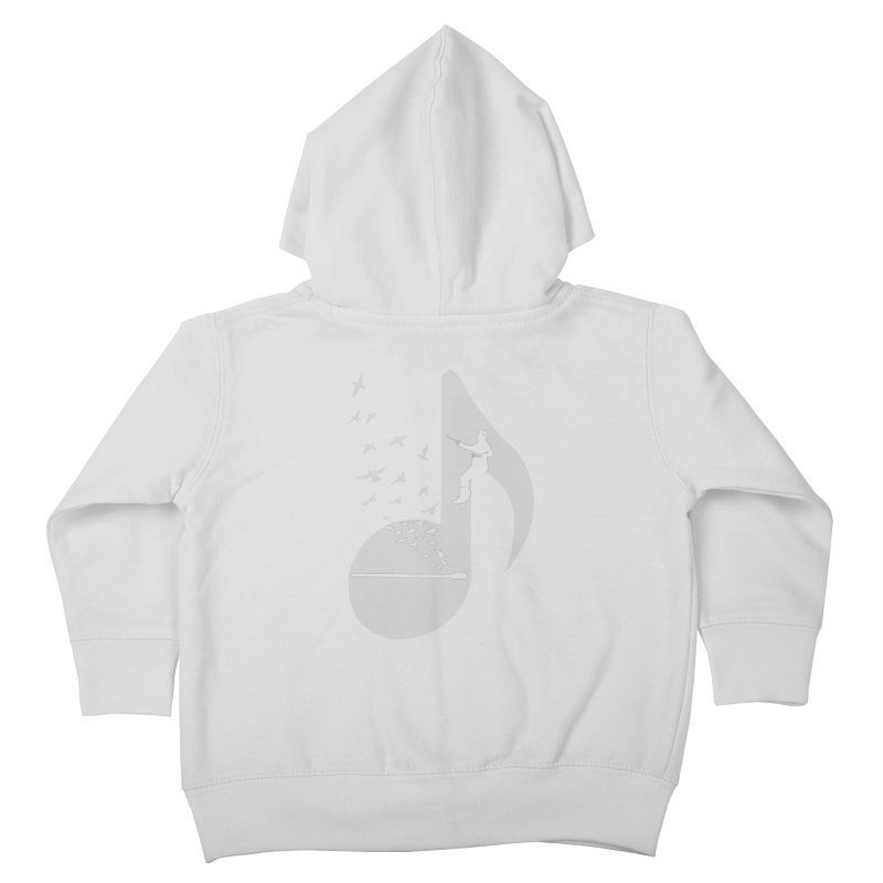 Musical - Conductor Kids Toddler Zip-Up Hoody by barmalisiRTB