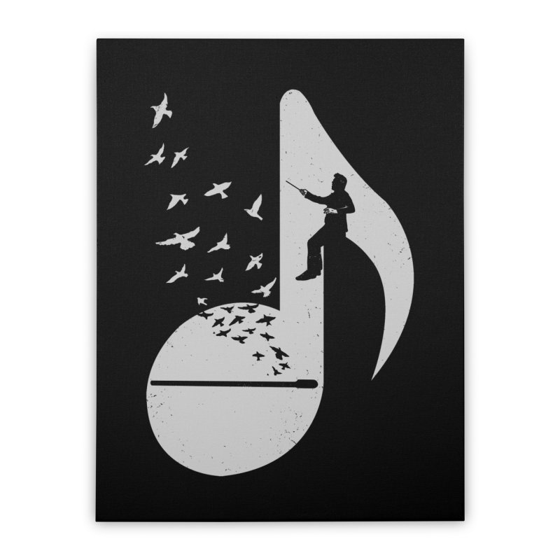Musical - Conductor Home Stretched Canvas by barmalisiRTB