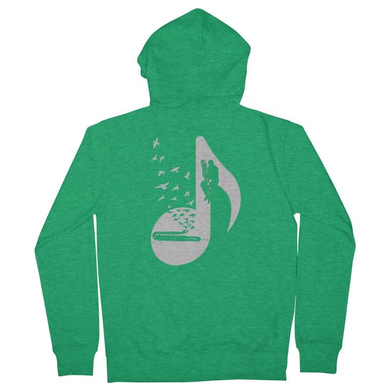 Musical - Contrabassoon Men's Zip-Up Hoody by barmalisiRTB