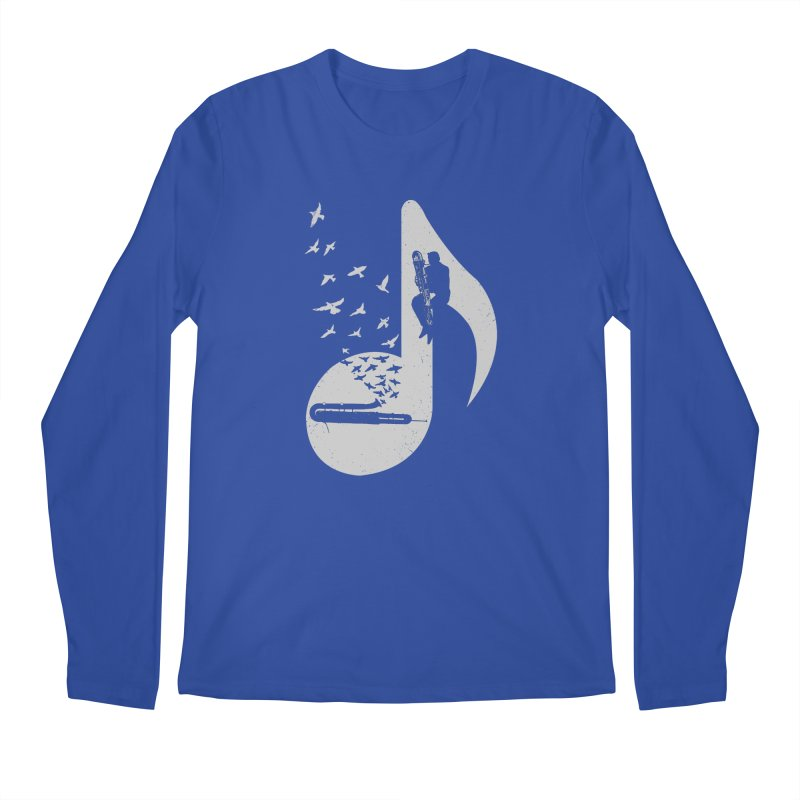 Musical - Contrabassoon Men's Longsleeve T-Shirt by barmalisiRTB