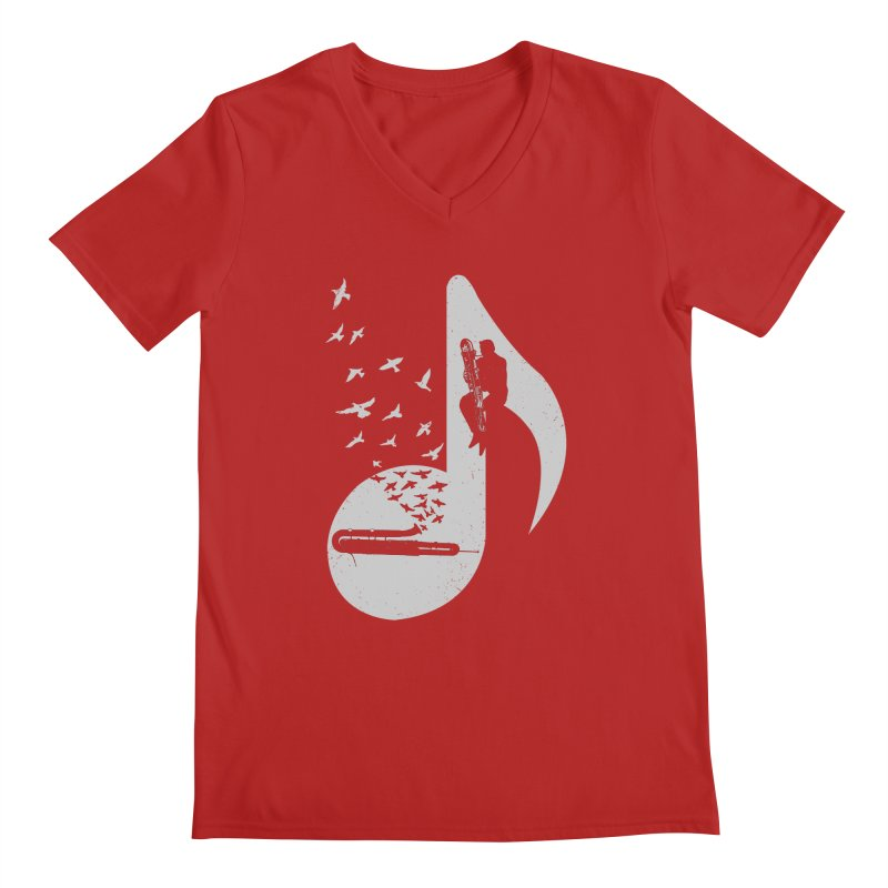 Musical - Contrabassoon Men's V-Neck by barmalisiRTB
