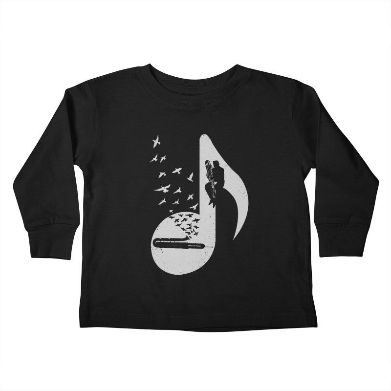 Musical - Contrabassoon Kids Toddler Longsleeve T-Shirt by barmalisiRTB