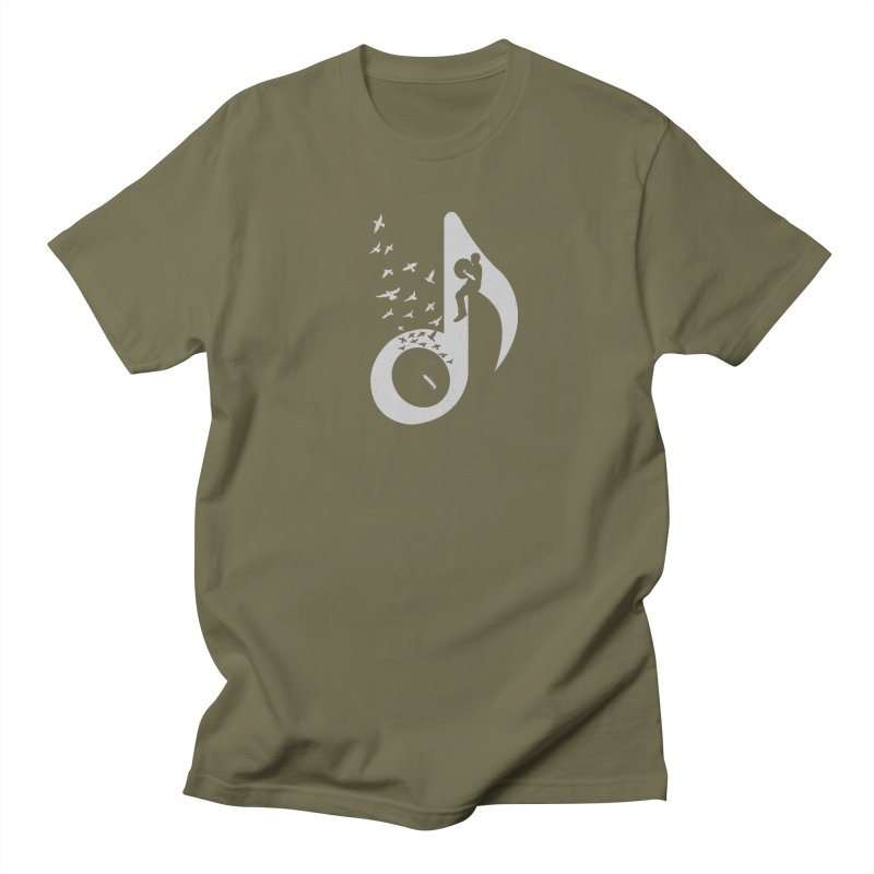 Musical - Cymbals Men's T-shirt by barmalisiRTB