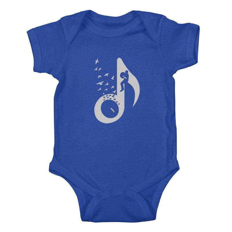 Musical - Cymbals Kids Baby Bodysuit by barmalisiRTB